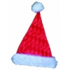 Velvety Santa Hat Red